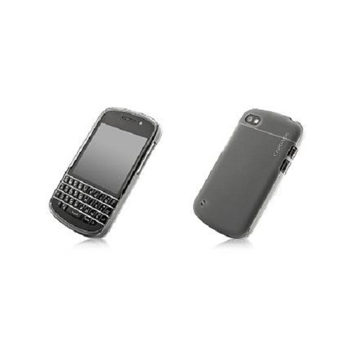CAPDASE Soft Jacket for BB Q10 [SJBBQ10-P201-BB] - Tinted Black - Casing Handphone / Case
